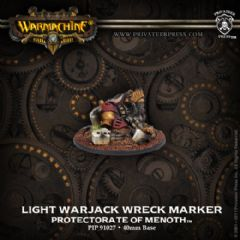 Protectorate Light Warjack Wreck Marker